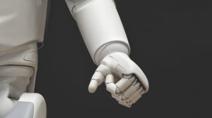 Robot's clenched hand