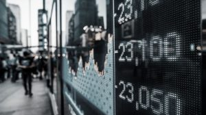 stock markets going up and down